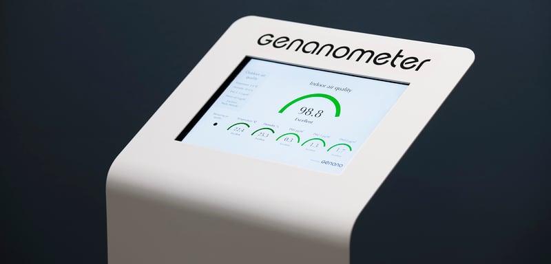 Genano Genanometer air quality measurement